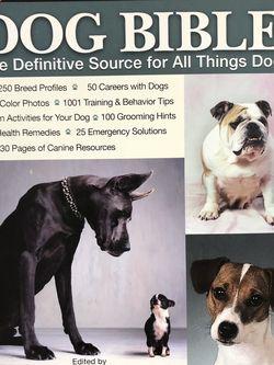 Dog Bible Book The Original Bowtie Mehus-Roe Encyclopedia for Sale in San Jose,  CA