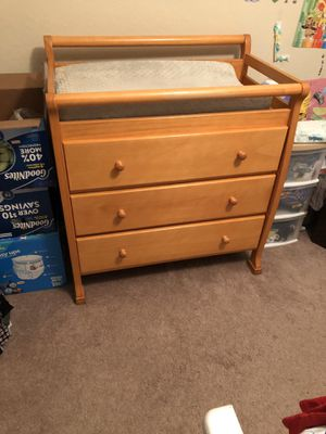 "36.5"" wide, 37"" tall 23"" deep changing table for Sale in Rancho Cucamonga, CA"