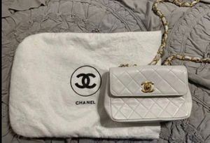 White Quilted Chanel Mini for Sale in Dallas, TX