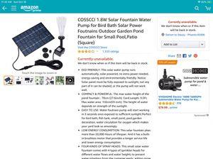 Solar Fountain for Sale in Phoenix, AZ