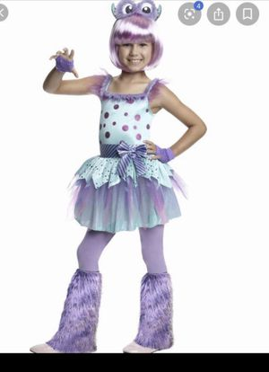 Girls monster costume size 7/8 for Sale in San Diego, CA
