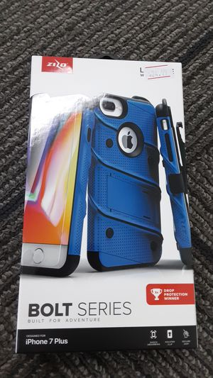 iPhone 7 plus Zizo Bolt Series case!! for Sale in San Angelo, TX