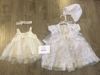 White Special Occasion Wedding Or Baptismal Infant Dresses for Sale in University Place,  WA