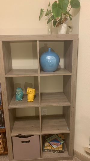 Shelf .. organizer with boxes for Sale in Houston, TX