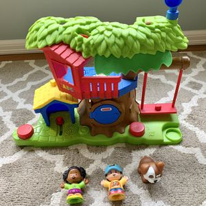 Little People Swing And Treehouse By Fisher Price for Sale in Issaquah, WA