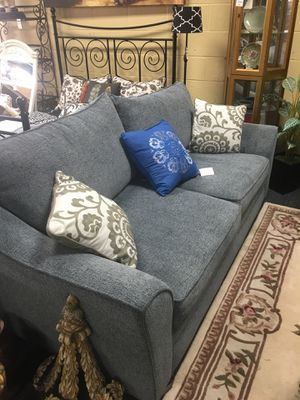 Blue Couch by Beyond for Sale in Marietta, GA