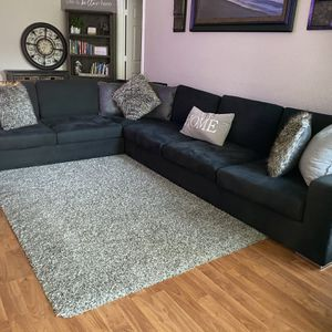 Charcoal Gray Sectional for Sale in Fort Worth, TX
