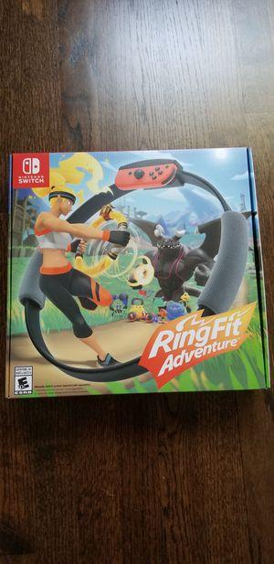Brand New Ring Fit Adventure for Nintendo Switch for Sale in La Grange, IL
