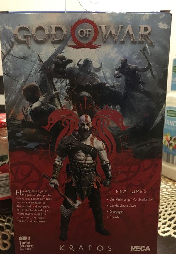 Kratos neca figure