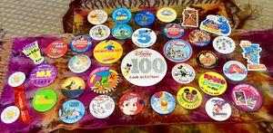 Big Lot Of Disney Big badge pins for Sale in Bountiful, UT