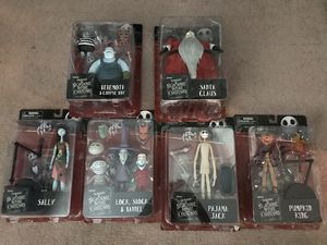 Lot of 6 Nightmare before Christmas Diamond select figures for Sale in South San Francisco, CA