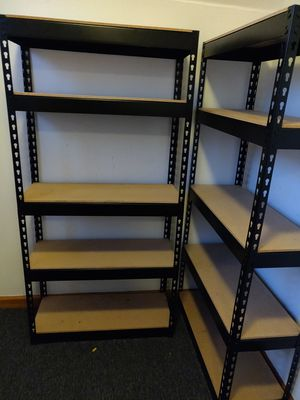 Heavy duty metal shelves for Sale in Chicago, IL