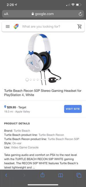 Turtle beach head set. for Sale in Oakdale, MN