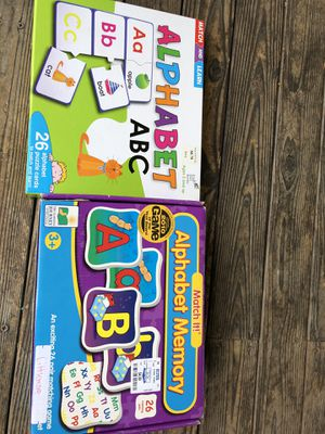 Alphabet game/ puzzle for Sale in Everett, WA