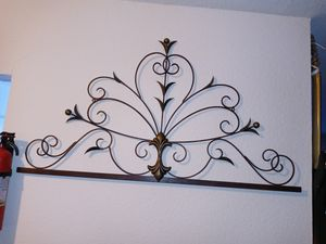 Two Iron wall decorations for Sale in Houston, TX