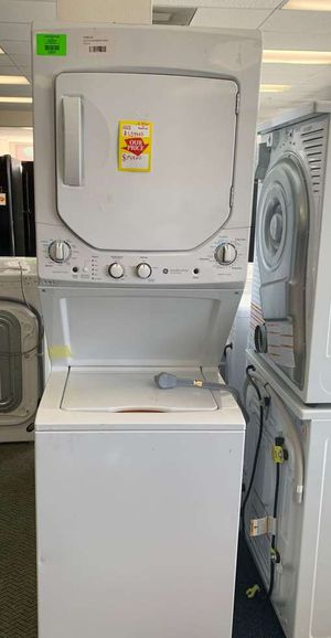 BRAND NEW GE GUD24ESSMWW WASHER AND ELECTRIC DRYER COMBO L CHS for Sale in Los Angeles, CA