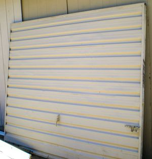 Garage door with hinges for sale for Sale in Fresno, CA