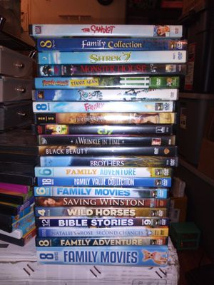Kids and family DVD lots of movies for Sale in Lakewood, CO