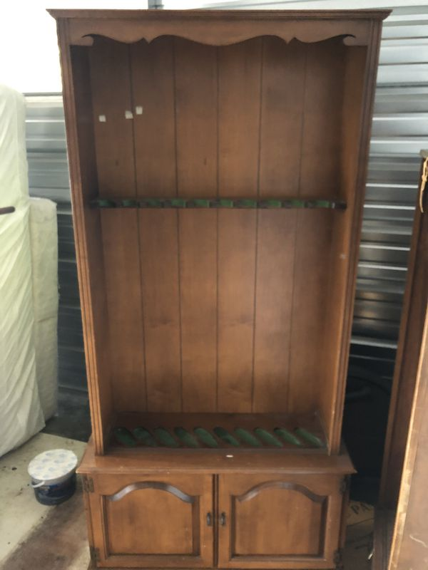 Gun cabinet without glass, good condition. $200 obo