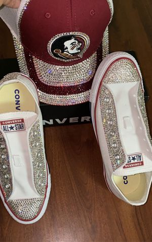 Custom all star converse tennis shoes for Sale in Columbus, OH