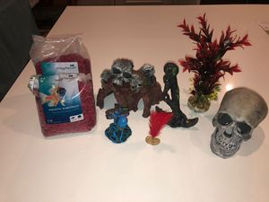Fish tank decorations for Sale in Temecula, CA