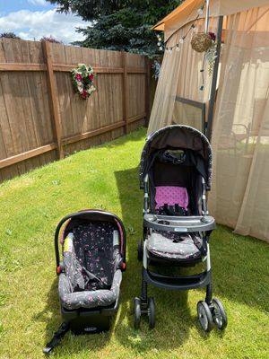 Stroller and car seat 💺 👶 for Sale in Tacoma, WA