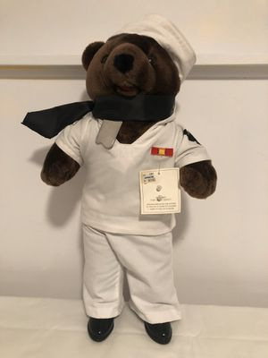 "Vintage 20"" Bear Force of America Sailor Bear for Sale in West Haven, CT"