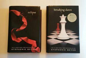 Stephenie Meyer Eclipse & Breaking Dawn Hard Cover Books for Sale in Hudson, FL