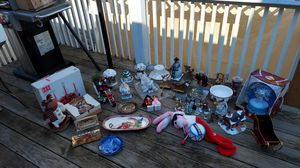 Christmas decorations houses villages figurine for Sale in Waterbury, CT