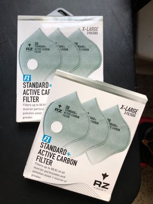 RZ F1 X-Large 3 filters (2 packs available) for Sale in Miami, FL