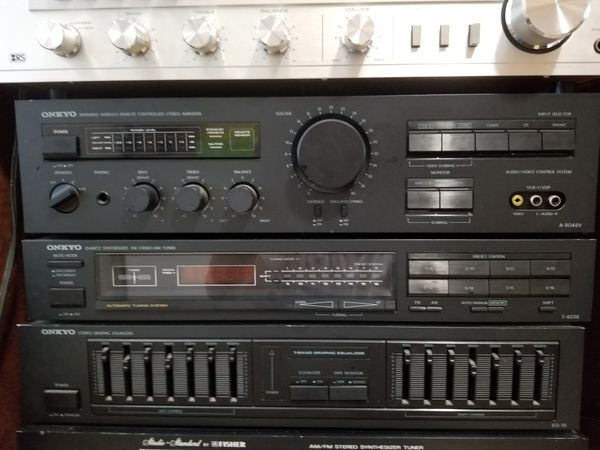 Vintage Onkyo Reciever, Equalizer, Amplifier. $140 Pickup in Oakdale