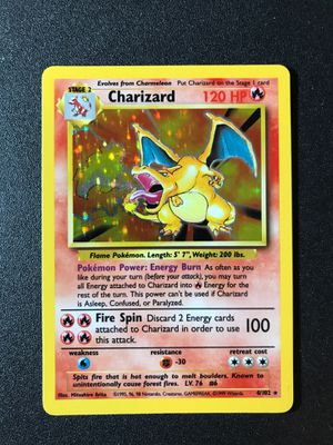 MINT Charizard 4/102 Base Set for Sale in Concord, CA
