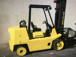 HYSTER Forklift S 135 XL with 5 Forks ,swing Shift , and Fork Positions for Sale in Los Angeles, CA