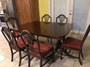 Antique table and chairs Trogdon Furniture Company No. 172 for Sale in Longwood, FL