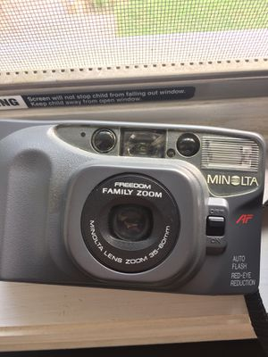 Minolta camera with case for Sale in Ronkonkoma, NY