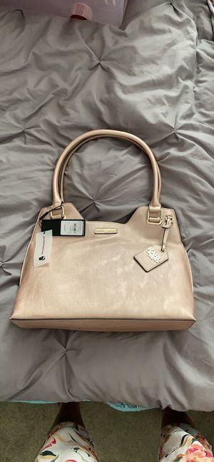 Karl Lagerfield large rose gold shoulder bag/handbag for Sale in Yuma, AZ