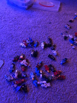 Lot of about 40 LEGO Ninjago minifigures for Sale in El Cajon, CA