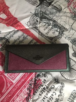 Coach soft colorblock wallet -large for Sale in Arvada, CO