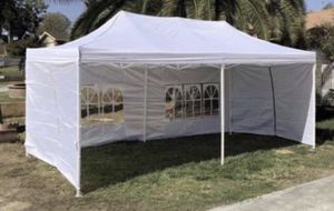 🎉🎉🎉10x20ft Pop Up Canopy Tent Available in WHITE•BLUE •BLACK 🎉🎉🎉 for Sale in Pomona, CA