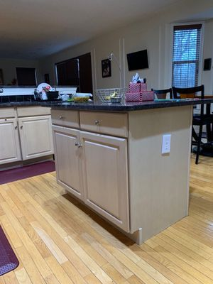 Kitchen Cabinets with Granite Counter Tops and 80/20 sunk for Sale in Englishtown, NJ