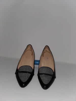 Calvin Klein Black and White Flats Size 9 for Sale in Murfreesboro, TN