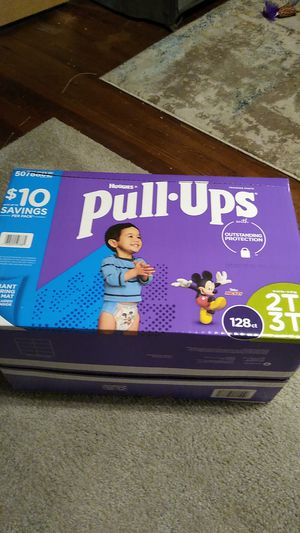 Huggies Pull Ups 2T 3T 128 count for Sale in Egg Harbor City, NJ