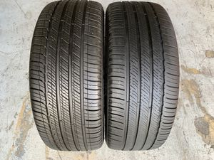 Two 225/45/18 Michelin Primacy MXV4 ZP Runflats with 70-100% left great pair Mercedes c-class pair for Sale in Hialeah, FL