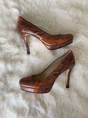 Michael Kors MK Python Leather Heels for Sale in Bakersfield, CA