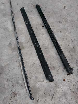 Jeep Wrangler soft top aluminum rails for Sale in Tampa, FL