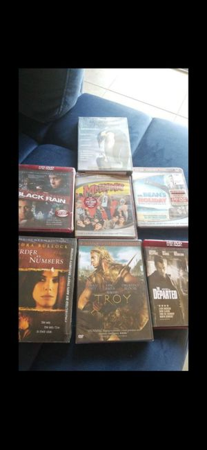 (7) SEALED (NEW) DVD'S for Sale in Delray Beach, FL
