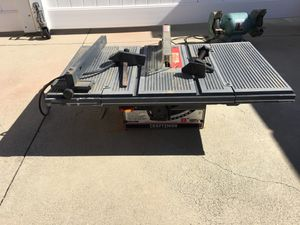 """Craftsman 8"""" direct drive table saw for Sale in Anaheim, CA"""