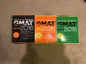 GMAT OFFICIAL GUIDE 2016 for Sale in Irvine, CA