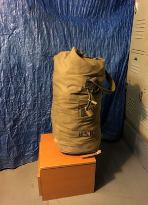 Authentic us navy duffle bag for Sale in Washington, DC