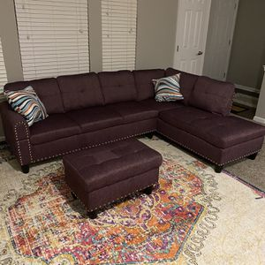 Brand New Sofa And Ottoman for Sale in Randallstown, MD